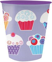 Sweet Cupcake Party 12oz. Plastic Cup
