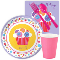 Sweet Cupcake Party Snack Party Pack