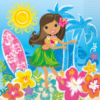 Luau Lunch Napkins (16)