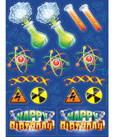 Mad Scientist Stickers (4)