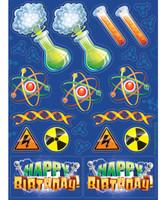 Mad Scientist Stickers (4)