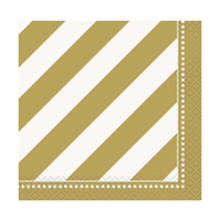 Golden Birthday Beverage Napkins (16)