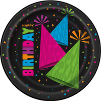 Glow in the Dark Party Dinner Plates