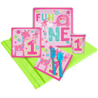 Fun at One Girl Party Pack