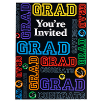 Grad Party Invitations (8)