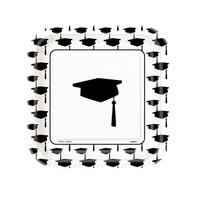 Graduation Dessert Plates (10)