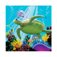 Dolphin Party Beverage Napkins (16)