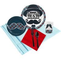 Little Man Mustache Party Pack
