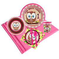 Look Whoo's 1 Pink Party Pack