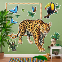 Jungle Party Giant Wall Decals