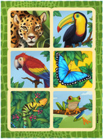 Jungle Party Sticker Sheets (4)
