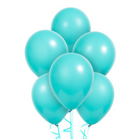 Jade Green Latex Balloons (6)