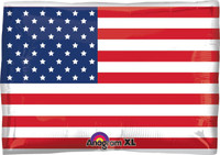American Flag Foil Balloon