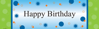 Party Birthday Banner