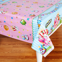Shopkins Plastic Tablecover