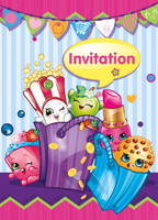 Shopkins Invitations
