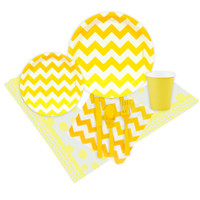 Chevron Yellow Event Pack