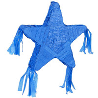 Royal Blue Star Pinata