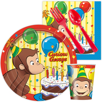 Curious George Snack Party Pack