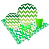 Chevron Green Event Pack