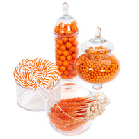 Orange Candy Buffet - Large
