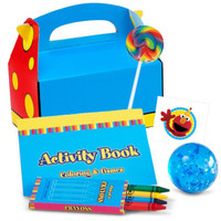 Sesame Street 2 -  Filled Favor Box (Pack of 4)