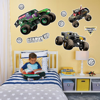 Monster Jam Large Wall Decal