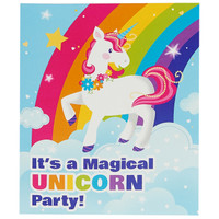 Fairytale Unicorn Party Invitations (8)