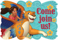 Disney Elena Postcard Invitation