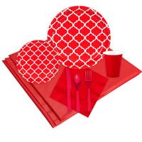 Quatrefoil Classic Red Event Pack