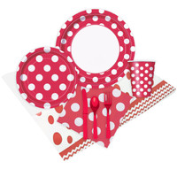 Red and White Dots Event Pack