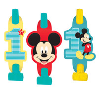 Disney Mickey Mouse 1st Birthday Blowouts (8)