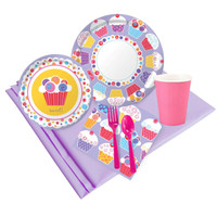 Sweet Cupcake Party Pack For 24