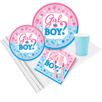 Gender Reveal Party Pack for 24