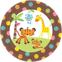 Fisher Price Baby Shower Dessert Plates