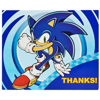 Sonic the Hedgehog Thank-You Notes