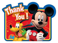 Disney Mickey Fun and Friends Thank-You Notes
