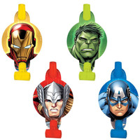 Avengers Assemble Blowouts (Pack of 8)