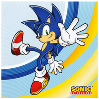 Sonic the Hedgehog Lunch Napkins
