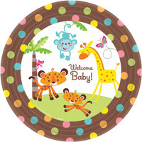 Fisher Price Baby Shower Banquet Dinner Plates