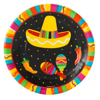 Fiesta Fun Dessert Plates