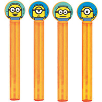 Minions Despicable Me - Bubble Tubes & Wands (Pack of 4)