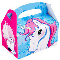 Enchanted Unicorn Empty Favor Boxes (Pack of 8)