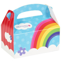 Rainbow Wishes Empty Favor Boxes (Pack of 8)