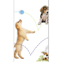 Party Pups Plastic Tablecover