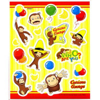 Curious George Sticker Sheets