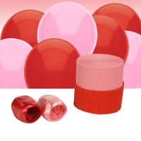 Red and Pink Decorating Kit