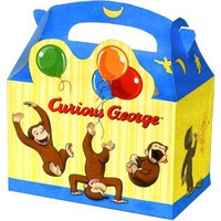 Curious George Treat Boxes (4 count)