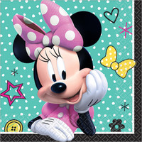 Minnie Mouse Helpers Beverage Napkins (16 count)