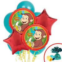 Curious George Balloon Bouquet 2